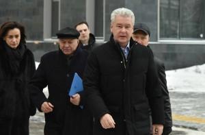 27 января 2016 Мэр Москвы Сергей Собянин осмотрел жилые дома в районе Таганский