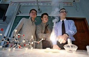 Ученик Пироговской школы взял золотую медаль на международной олимпиаде по химии