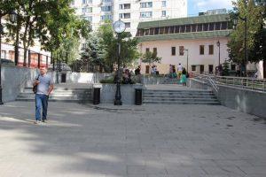 Рядом со станцией метро «Бауманская» благоустроили общественное пространство. Фото: пресс-служба префектуры ЦАО