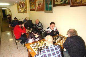 Соревнование по шахматам провели в спортивном клубе «Октябрьский». Фото предоставили в пресс-службе ШШК «Октябрьский»