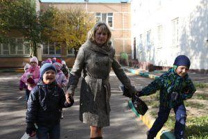 Учебная тренировка прошла в школе №1799. Фото: Дмитрий Рухлецкий, «Вечерняя Москва»