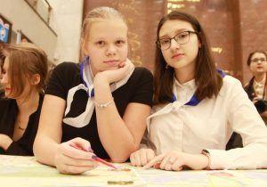 Ученица районной школы победила в городской олимпиаде. Фото: Наталия Нечаева, «Вечерняя Москва»