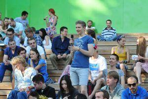 Пьесу по ролям прочитают в парке «Музеон».. Фото: Казаков Александр, «Вечерняя Москва»