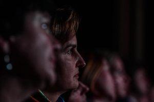 Фильм об Александре Пушкине показали в Центре Вознесенского. Фото: Пелагея Замятина, «Вечерняя Москва»