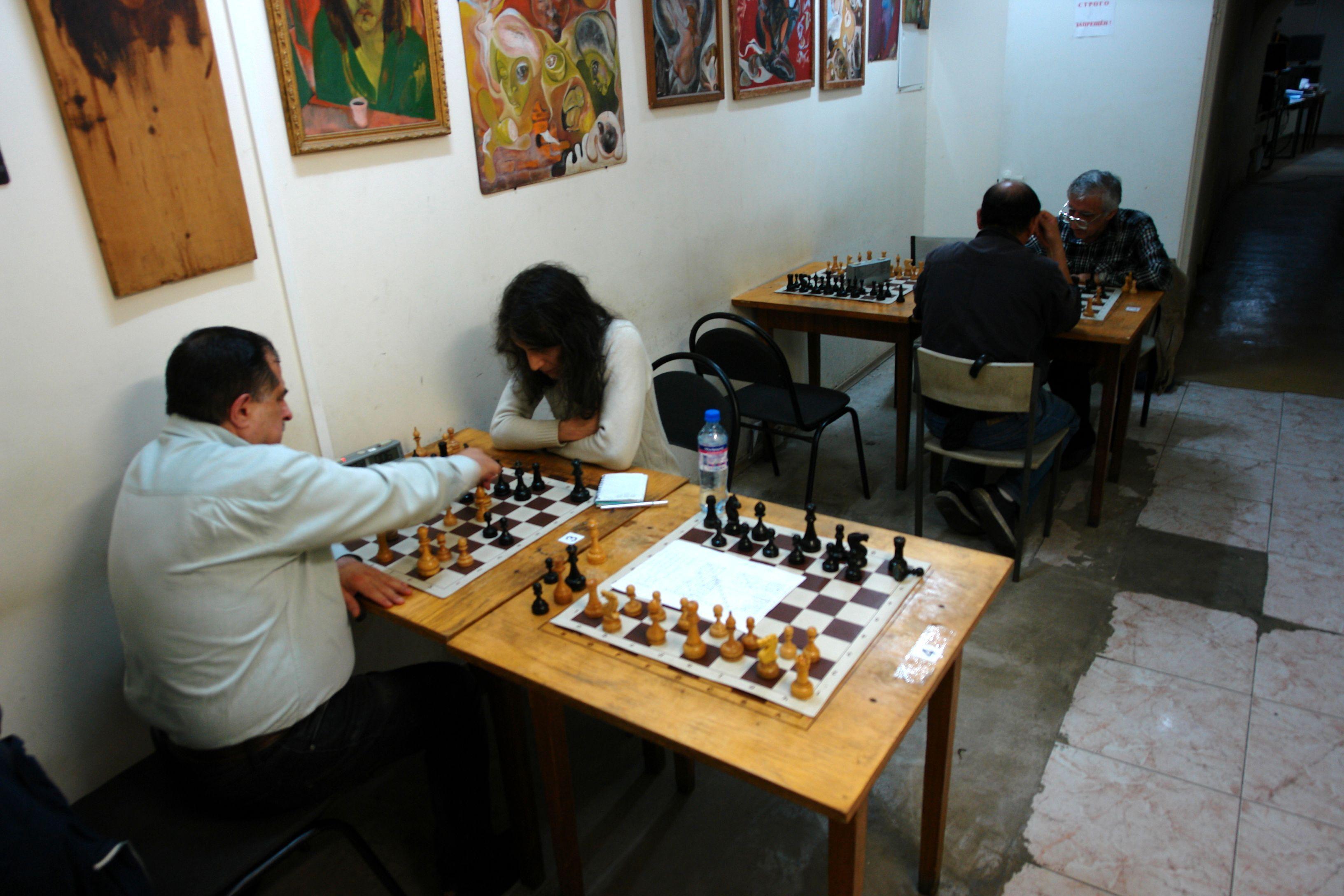 Шахматные клубы москвы октябрьский ночной клуб казань театров