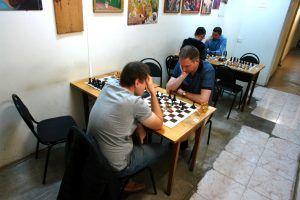 Шахматный турнир организовали в клубе «Октябрьский». Фото предоставил Сергей Куракулов