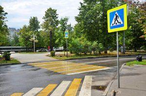 Разметку обновили на дорогах района. Фото: Анна Быкова