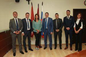 Делегация из Сербии встретилась в столице с руководством Префектуры Центрального округа. Фото: Наталия Нечаева, «Вечерняя Москва»