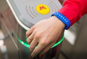 Банковские карты будут считываться турникетами метро за секунду к моменту запуска МЦД. Фото: сайт мэра Москвы