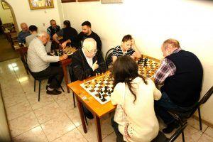 Блицтурнир по шахматам провели в районе в честь Дня Конституции. Фото предоставлено ШШК «Октябрьский»