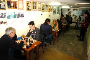Утешительный блицтурнир по шахматам провели в районе. Фото предоставлено ШШК «Октябрьский»