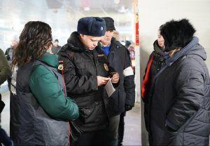 Плановый рейд на предмет безопасности провели в районе. Фото: Денис Кондратьев
