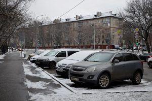 1,2% улиц Москвы войдут в платную парковочную зону. Фото: Анна Быкова