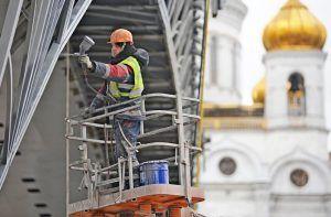 Культурно-выставочный центр появится под Патриаршим мостом. Фото: Александр Кожохин, «Вечерняя Москва»
