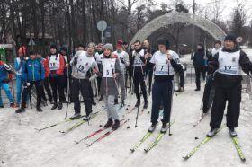 Сотрудники УВД по ЦАО приняли участие в чемпионате по зимнему служебному двоеборью. Фото: пресс-службы УВД по ЦАО