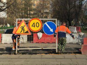 Ремонт асфальтового покрытия осуществили в одном из дворов района. Фото: Анна Быкова
