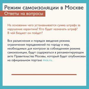 Штрафы за нарушение карантина были установлены президентом России