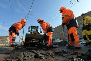 Дорогу отремонтировали в районе. Фото: Александр Казаков, «Вечерняя Москва»