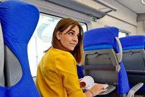 Свыше 2,3 миллиона поездок совершили 1 июня москвичи на поездах метро и Московского кольца. Фото: Пелагия Замятина, «Вечерняя Москва»