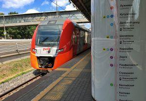 Вагоны тишины появились в каждом поезде «Ласточка» на МЦК. Фото: Анна Быкова