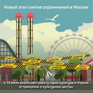 Новый этап снятия ограничений объявили в Москве