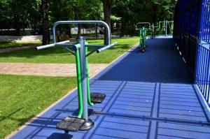 Новые спортивные площадки стали доступны жителям города. Фото: Анна Быкова