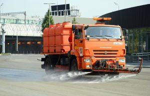 Объекты дорожного хозяйства отмыли в районе. Фото: Анна Быкова