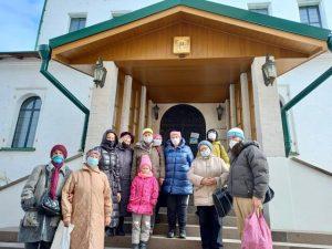 Участники филиала «Якиманка» посетили Мужской православный монастырь. Фото с сайта общественной организации