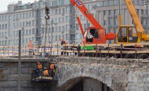 Ремонт Большого каменного моста завершат в августе. Фото: сайт мэра Москвы
