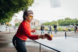 Столы для пинг-понга установили в Парке Горького. Фото с сайта Парка Горького