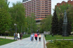 Инсталляции убрали из парка «Музеон». Фото: Анна Быкова