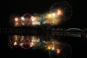 Салют в честь Дня города запустят в Парке Горького. Фото: Антон Гердо, «Вечерняя Москва»