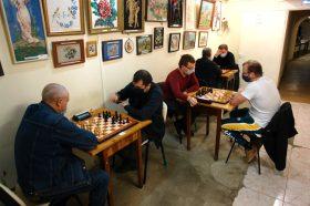 Шахматный турнир прошел в клубе «Октябрьский». Фото предоставили в пресс-службе клуба «Октябрьский»